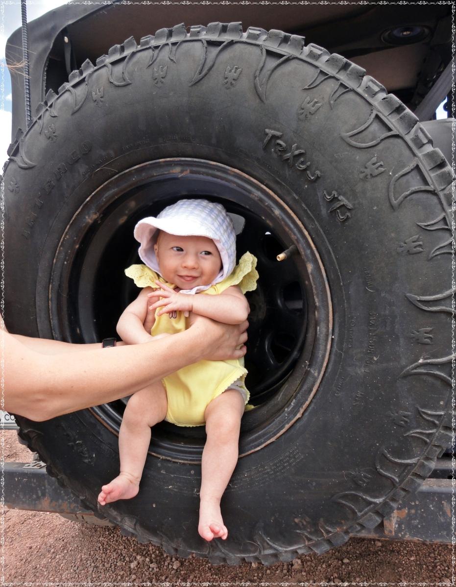 Breaking in Baby :)