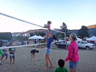 """Playing"" volleyball :)"