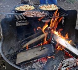A camp supper hash