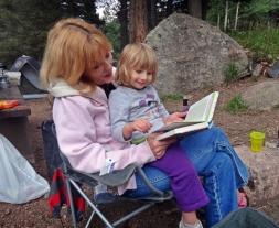 Reading with Grandmama