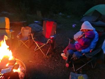 Fireside snuggles