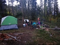 Our little camp site